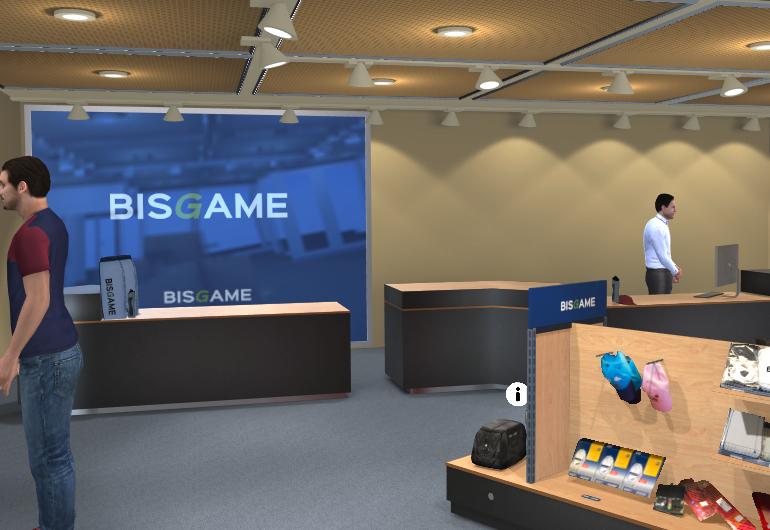 Storyboard lanserer BisGame